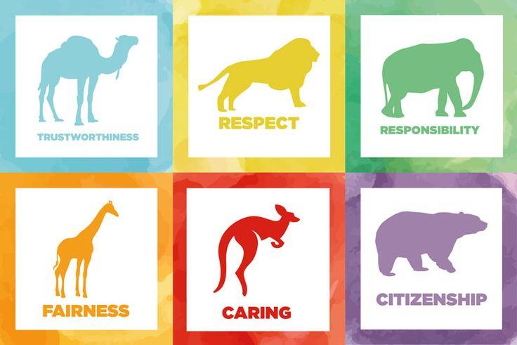 Values – The 6 Pillars of Character | Colegio Interamericano