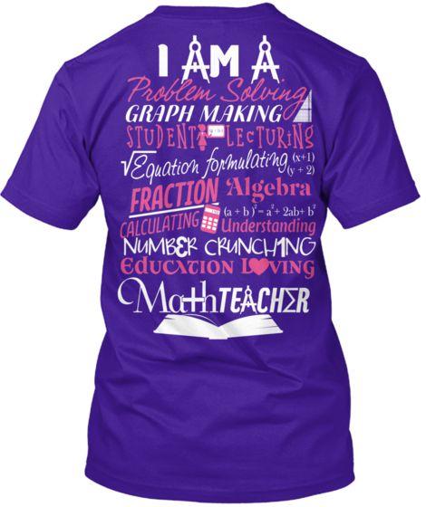 Math Teacher shirt