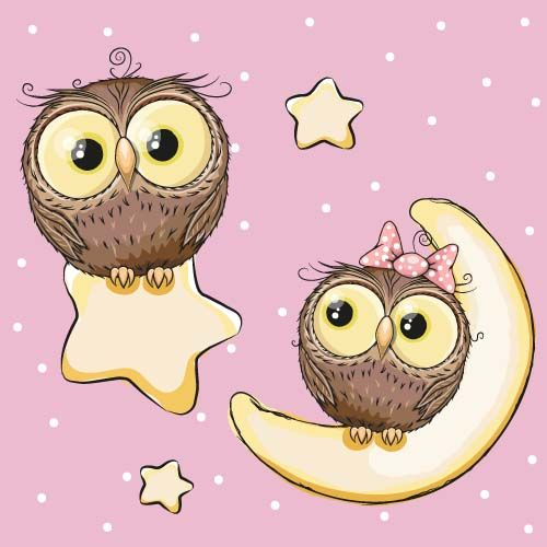 426 best dibujos animales images on pinterest for A cartoon owl
