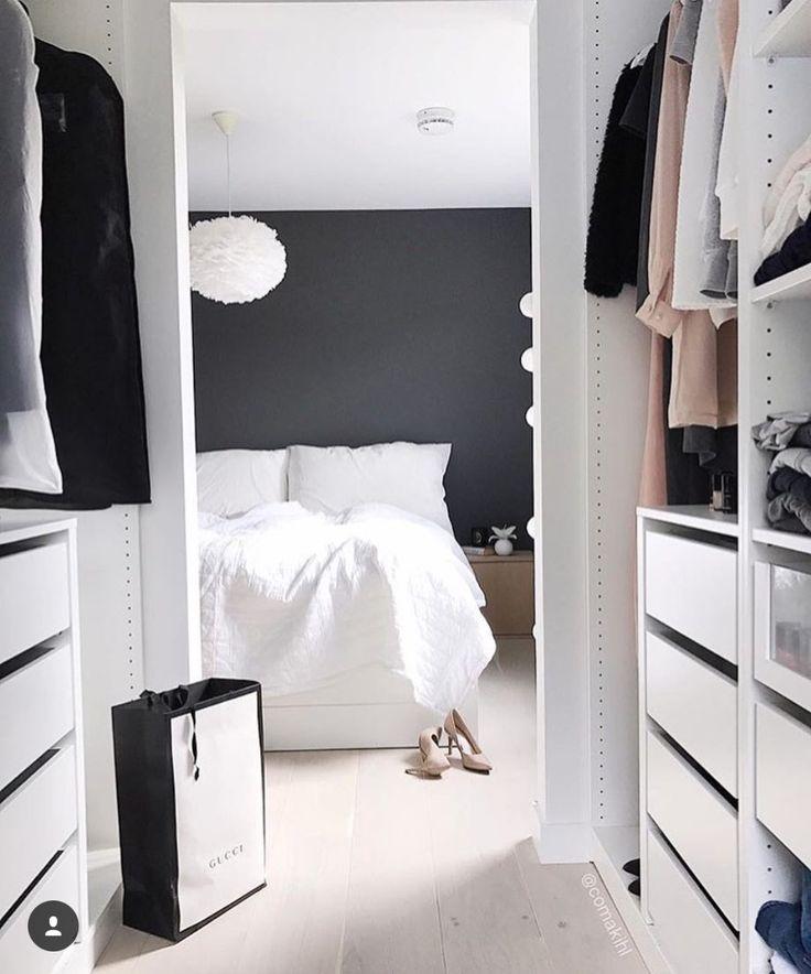 34 besten Kleiderschränke Bilder auf Pinterest Begehbarer - begehbarer kleiderschrank kleines schlafzimmer