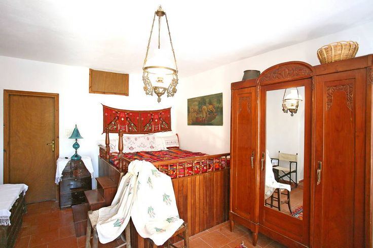 The large double bedroom can accommodate two people with ease. It was custom made for the needs of the house.