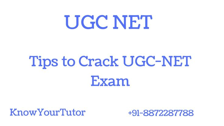 Tips' to crack UGC NET Exam which contains all the helpful information for aspirants to comfort out the preparation and release exam…