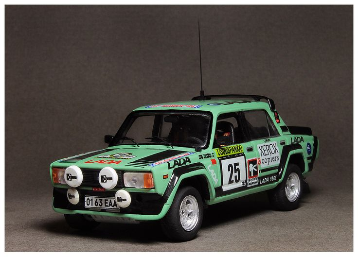 Lada VFTS 1/43 Rally 1000 Lakes 1983 #25 (1/43 Resin) J.Tammeka/A.Kulgevee. Price €62 + shipping Rally final results http://www.ewrc-results.com/final.php?e=10037