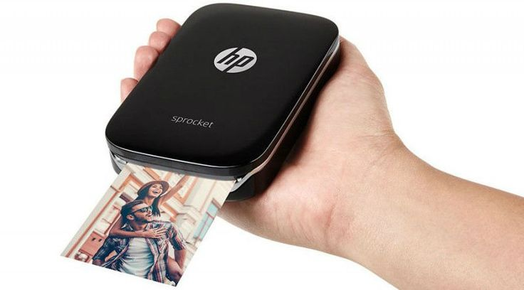 HP Sprocket Photo Printer Pocket Size Portable Bluetooth With LED  #HP