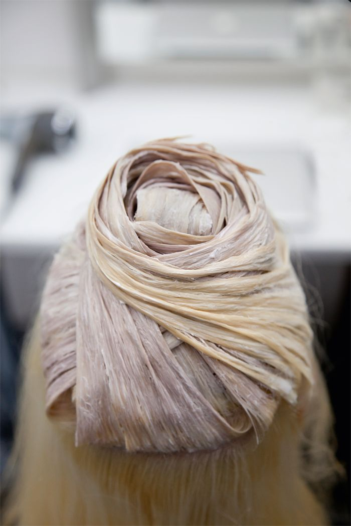 Color is layered and wrapped around the head to give a dimensional effect. #ColorID