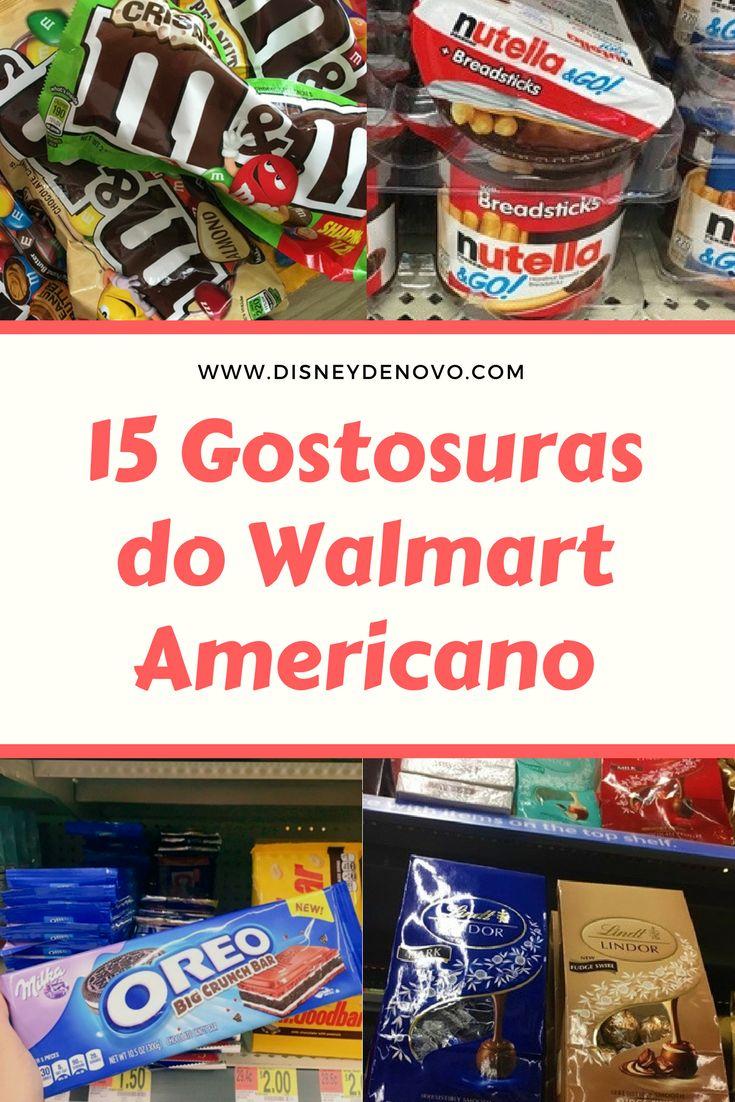 Compras, Orlando, Estados Unidos, Walmart, disney, doces, gostosuras, compras em Orlando, oreo, m&m's, nutella, lindt