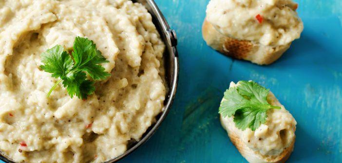 Recette de caviar d'aubergine allégé