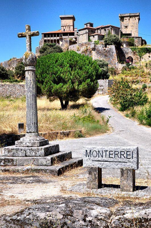 Blog en ruta: Ourense (termas y fiesta del Pulpo). Castillo de Monterrei Verin Orense Spain