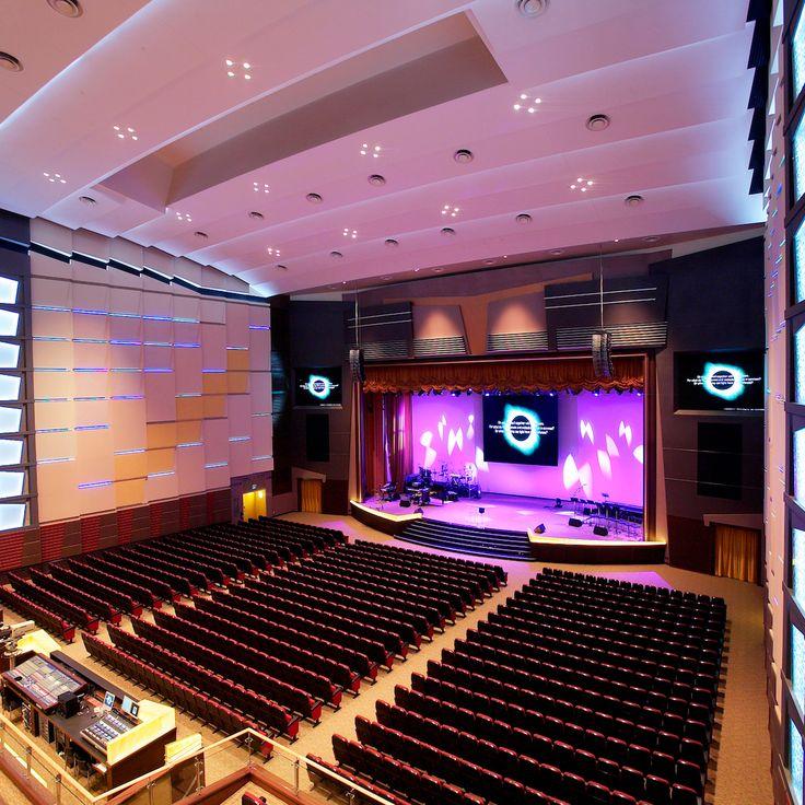 www.iida-intl.com#Auditorium Sounds Visual designs#Lighthouse Church Woodlands#Singapore