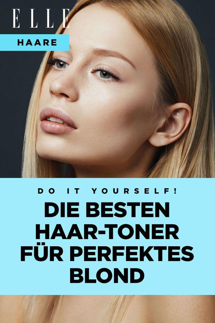 Haar-Toner: So zauberst du dir selbst das perfekte Blond
