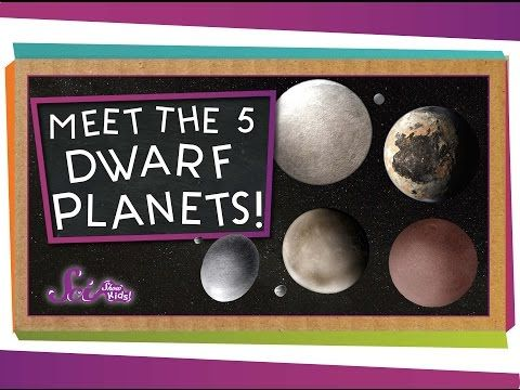Meet the 5 Dwarf Planets! by scishow: Our tour of the solar system isn't over yet! Jessi introduces you to some of the most newly-named members of the solar system: the five dwarf planets! SOURCES:Dwarf Planets: Overview Dwarf Planets Dwarf Planet Facts The Kuiper Belt Support SciShow on Patreon