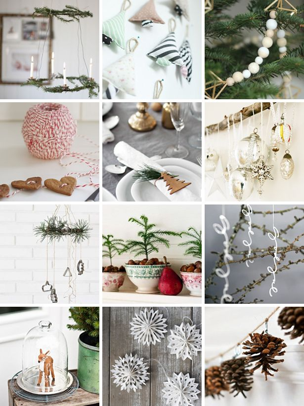 Inspiration // Christmas decoration - PS by Dila