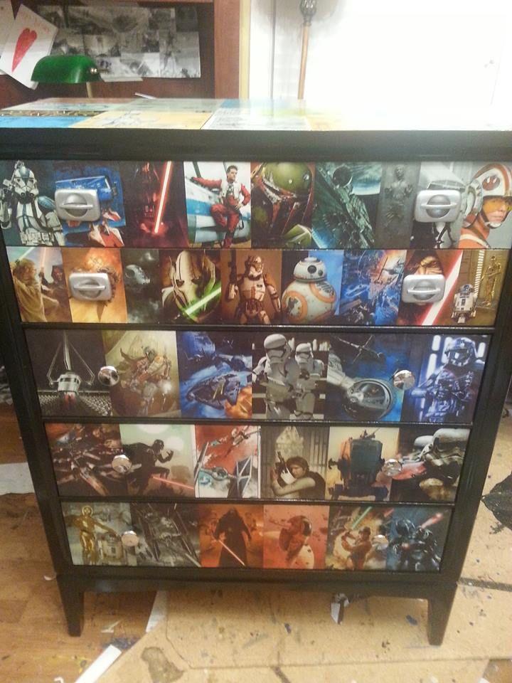 Star Wars Blueprint Dresser by Shabby Jacks