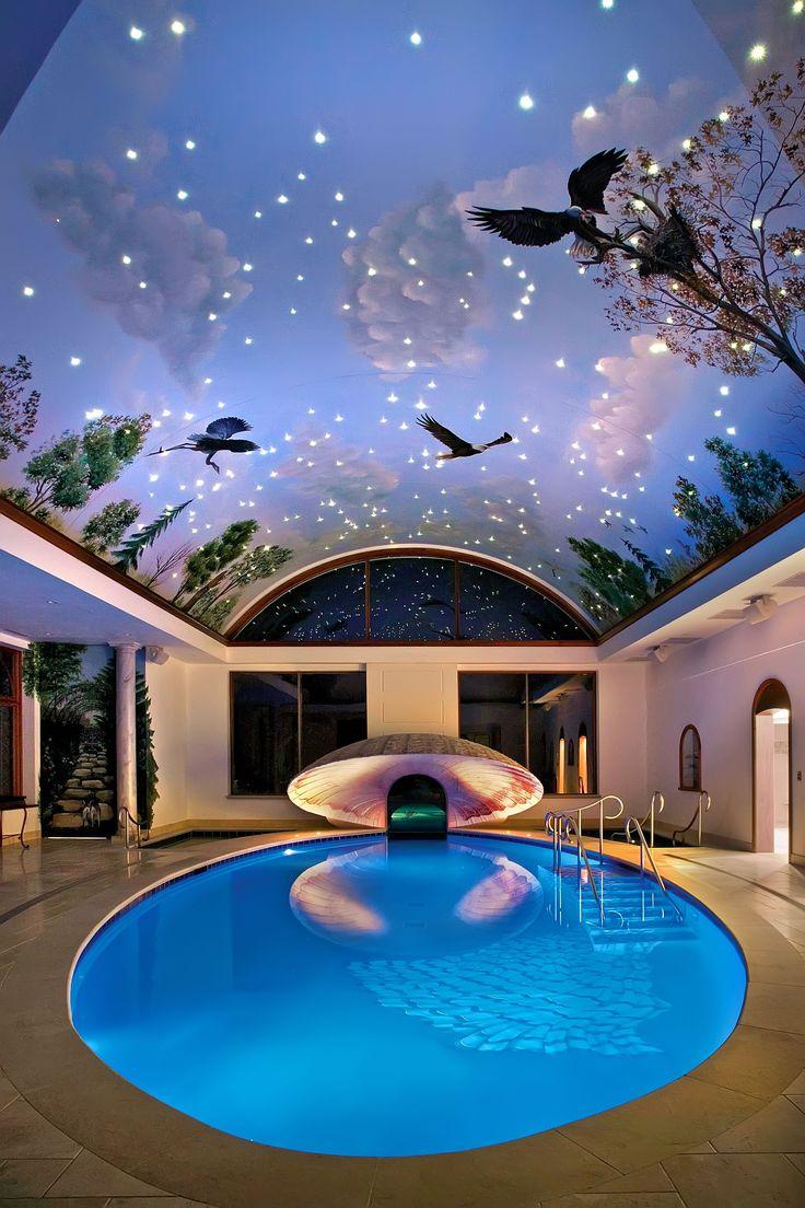 Indoor swimming pool luxus  170 besten Pool´s Bilder auf Pinterest | Hallenbäder, Traum-Pools ...