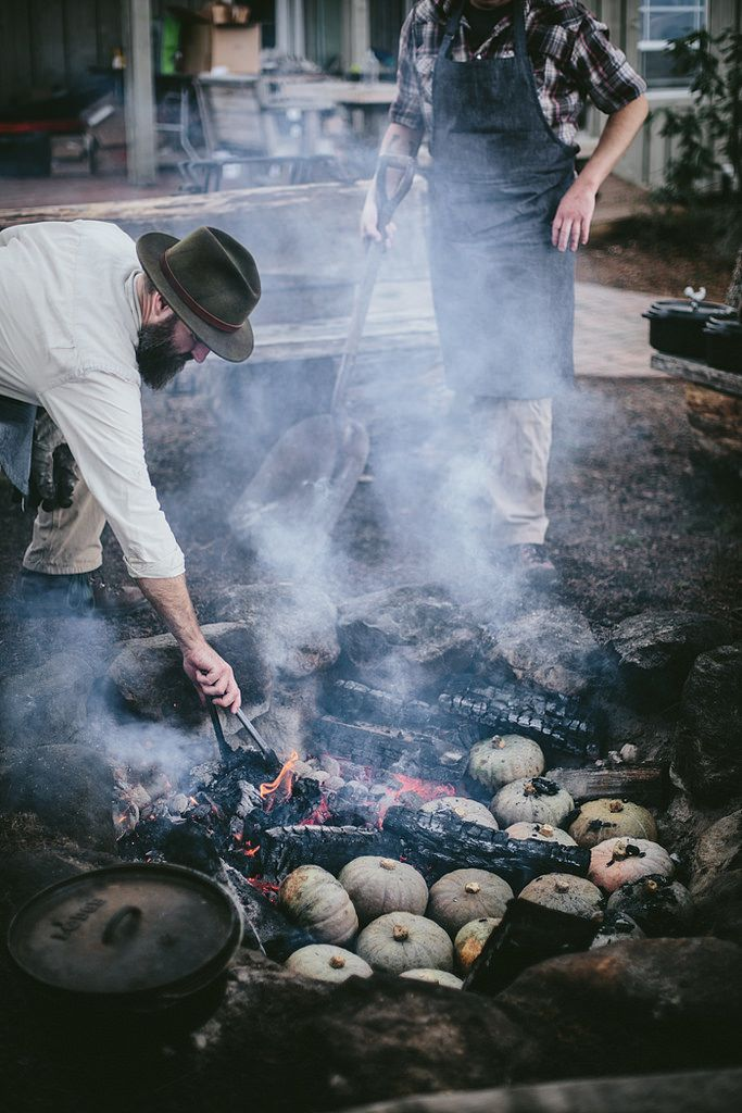 Secret Supper | Ember Roasted Squash | By Eva Kosmas Flores of Adventures in Cooking