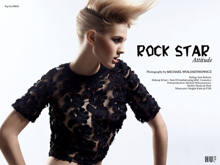 Rock Star Attitude I by Michael Woloszynowicz on 500px