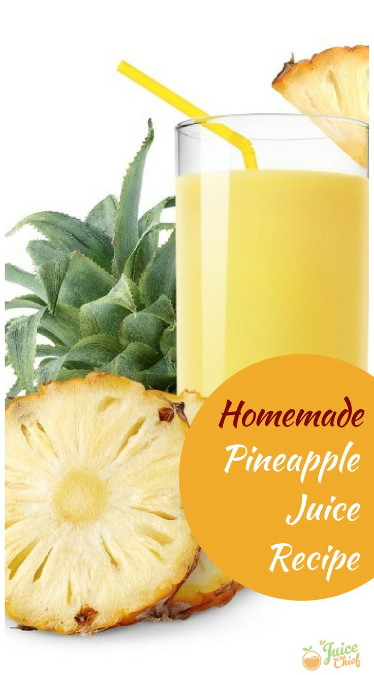 There is nothing better than freshly made Juice. Find out today how to make your own Pineapple Juice via TheJuiceChief.com