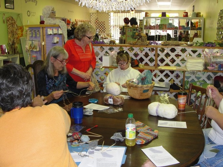 SUNNY SIDE YARNS on Depot Deep Concentration
