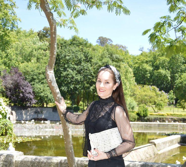 #Black White #look #outfit #luztieneunblog #elegante #cita #findesemana #entretiempo #casual #lunares #primavera #trendy #clase #turbante #compras #diario #chic #verano #jeans #negro #otoño #blanco #plumeti #lunares #blanco