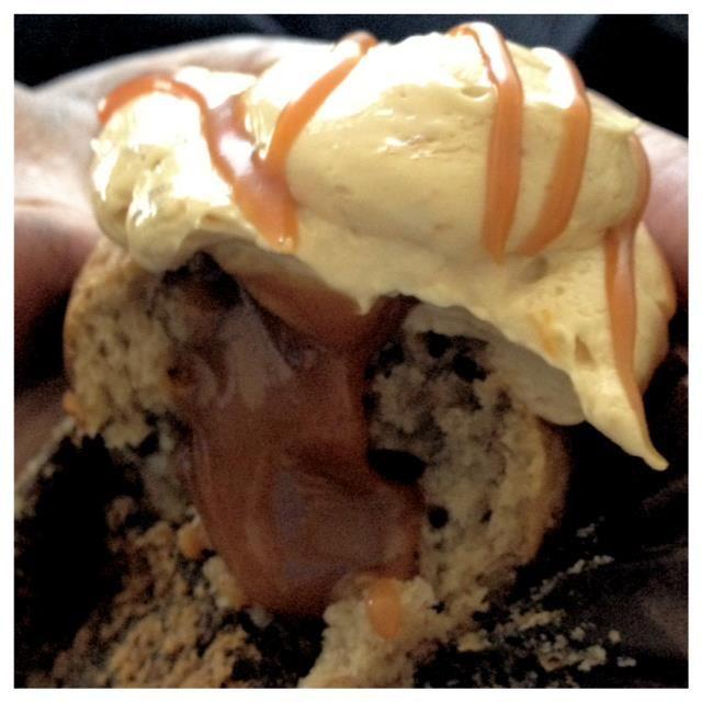 Faux Frosting   Sweet Arleen's: Banana Caramel Cupcake