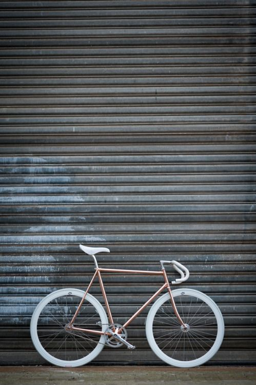 """""""Copper, never be gold."""" Copper bicycle by Joost Olsthoorn."""