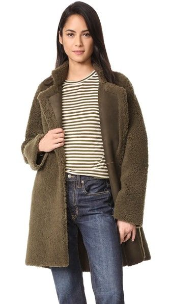 Vince Reversible Teddy Shearling Coat | SHOPBOP SAVE UP TO 25% Use Code: EOTS17