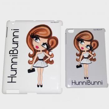 HunniBunni Gems Hard Tablet Personalised Case