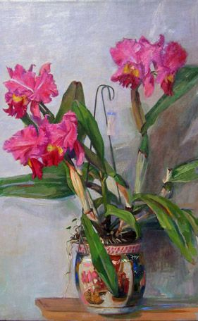 ❀ Blooming Brushwork ❀ - garden and still life flower paintings - Sam Adoquei