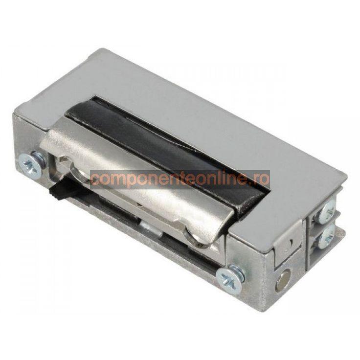 Yala electromagnetica, 12V, AC, DC, 18,5mm, cu intrerupator, Lockpol - 006952