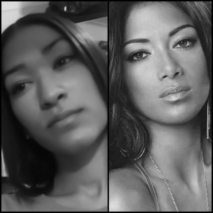 Celebrity look a like. Just a smidgen. Lol