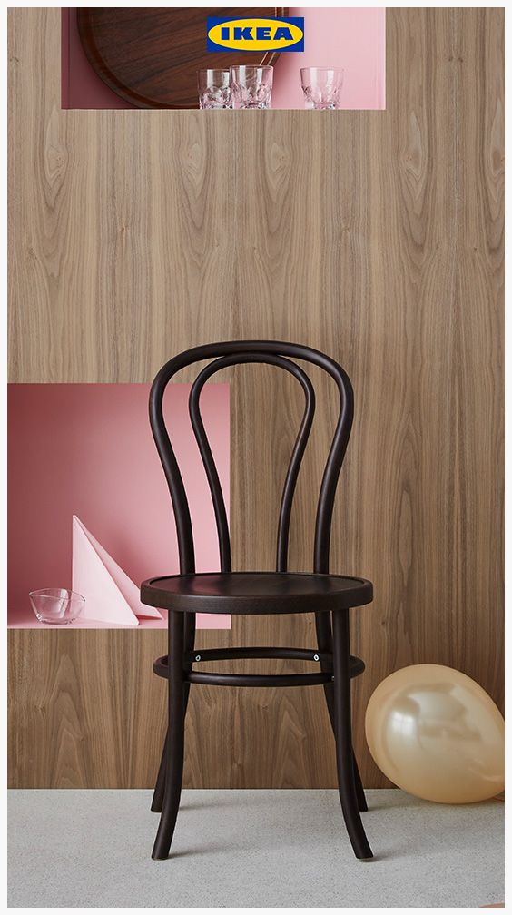 Wooden Living Room Chairs Black And Red Accessories The Ikea Bjuran Dining Chair Is Our Classic Which Fits In Perfectly Into Any Home With Its Retro Design