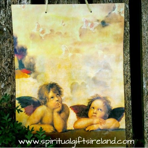 Angel Gift Bag Large Visit our store at www.spiritualgiftsireland.com  Follow Spiritual Gifts Ireland on www.facebook.com/spiritualgiftsireland www.instagram.com/spiritualgiftsireland www.etsy.com/shop/spiritualgiftireland	 We are also featured on Tumblr