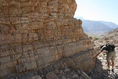 nalysis of rocks unearthed in Oman that were formed in an ancient ocean around the time of Earth's greatest mass extinction have helped explain why life on Earth took so long to recover. Credit: D. Astratti
