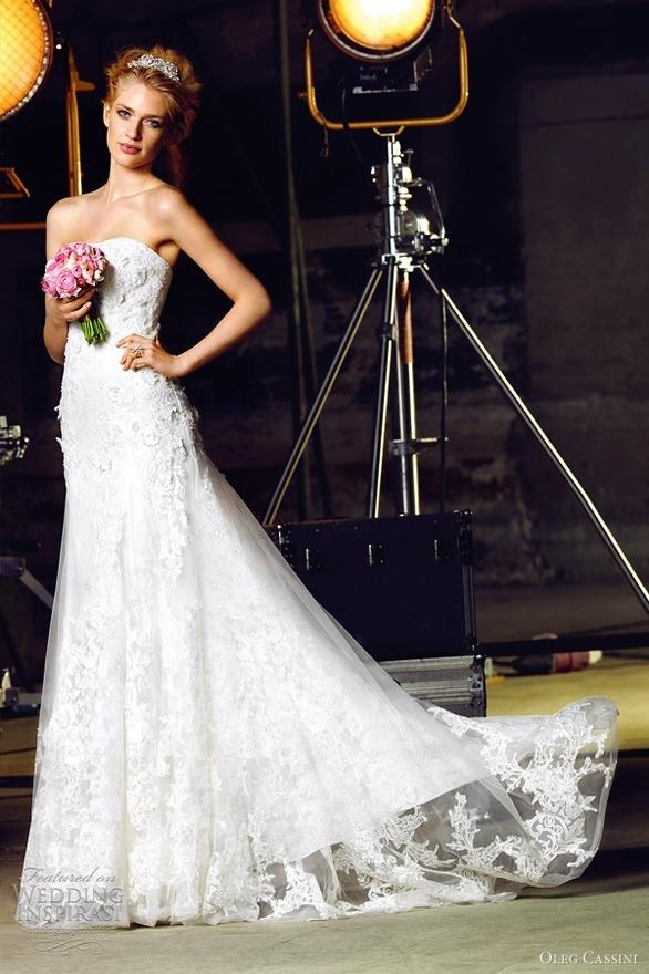 Oleg Cassini Wedding Dresses 2012