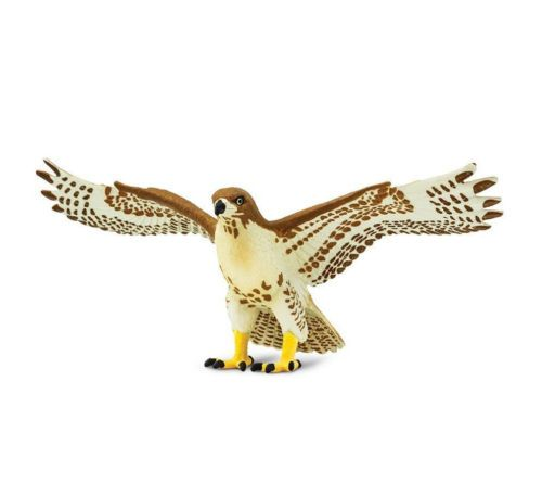 RED-TAILED-HAWK-Bird-Replica-151029-NEW-for-2017-FREE-SHIP-USA-w-25-SAFARI
