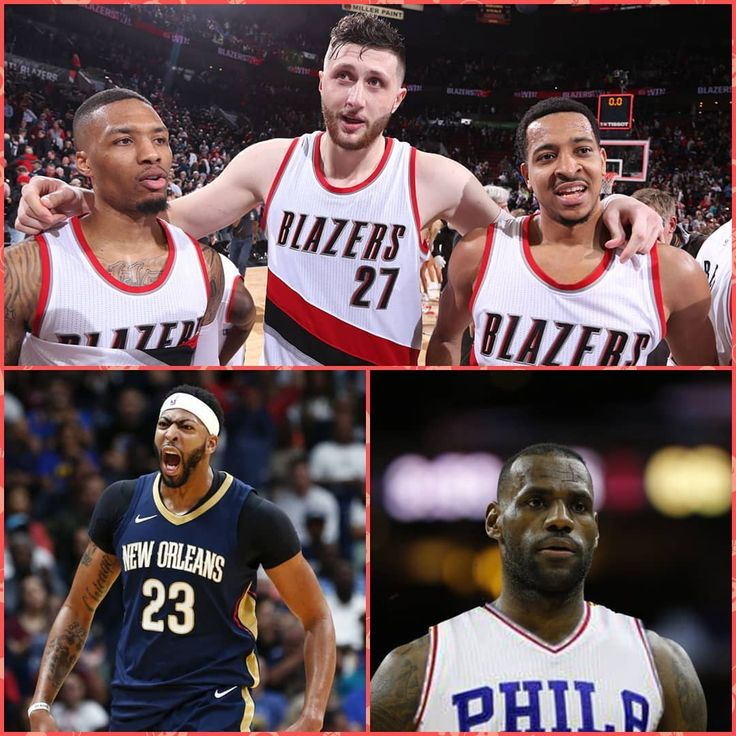 New episode outlining the #Blazers season and why nobody is paying enough attention to the #RipCity squad.  We also touch on Anthony Davis saving the season and jobs in the #Pelicans front office and could #LeBron join the #sixers this summer? (Link in bio) #trusttheprocess