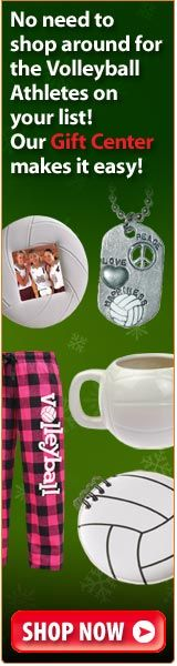 Different types of volleyball gifts