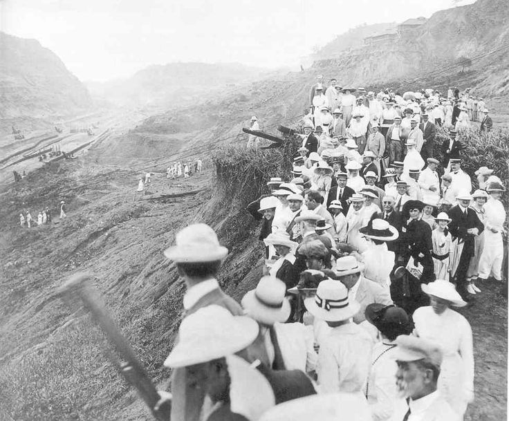 a history of the construction and control of the panama canal How the us obtained the panama canal t  and control the panama canal read this chapter to  the canal took 10 years to build construction was a remarkable.