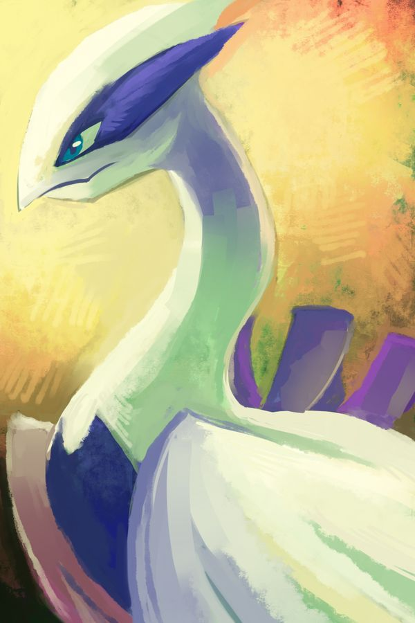 Lugia by ~Cometwing on deviantART it looks like a mother lugia