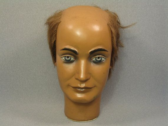 WEIRD And Really Ugly Vintage MANNEQUIN Head From West