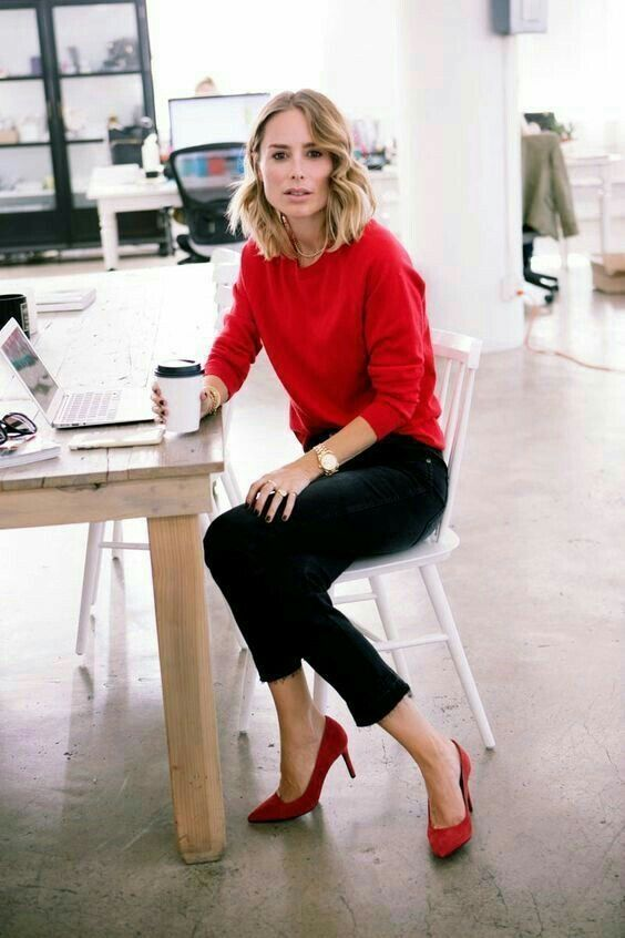 53 Fashionable Work Outfits for Women on 2018