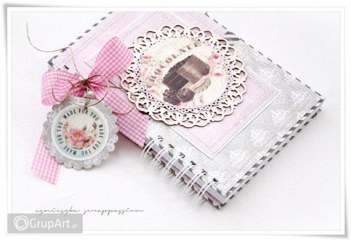 Grupart.pl - notatnik kulinarny - Scrapbooking - Notesy i kalendarze