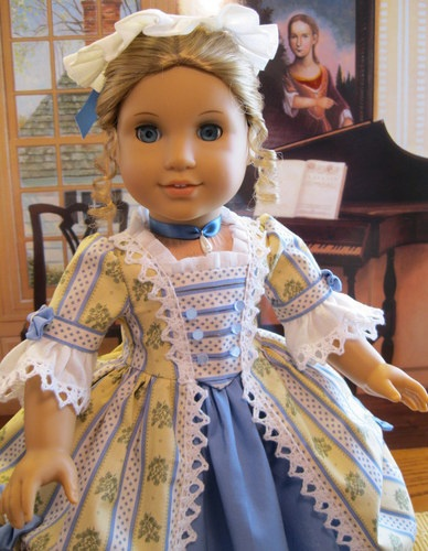 Summer Gentility for Elizabeth or Felicity American Girl doll 18in"