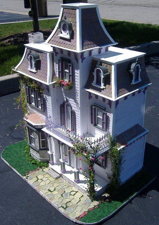 Custom Styled Dollhouse Kits: Beacon Hill Dollhouse By Tracy Topps