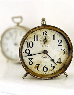 Vintage clock love