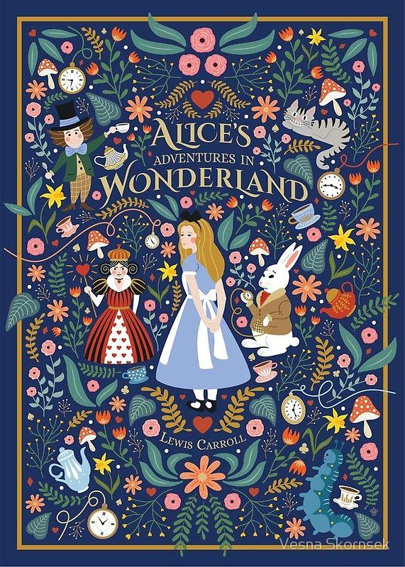 Alice in Wonderland #poster #illustration #art #findyourthing