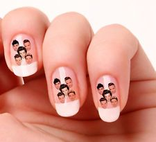 20 Nail Art Decals Transfers Stickers #724 - One Direction 1D peel & stick