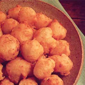 Fat Rascals (Potato Cheese Puffs)Chees Puff, Potatoes Puff, Fries Potatoes Who, Cheese Puff, Fat Rascals Fries, Deep Fries, Rascals Fries Potatoes, Potatoes Cheese, Rascal Potatoes