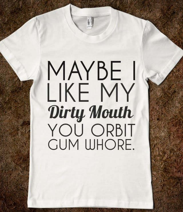 DIRTY MOUTH this should be crossstitch !