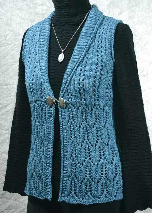 Fiddlesticks Knitting--Dorothy Siemens--Felicia Vest